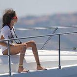 Victoria de Marichalar sigue las regatas de la Copa del Rey de Vela 2015