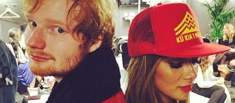Ed Sheeran y Nicole Scherzinger, juntos en un evento