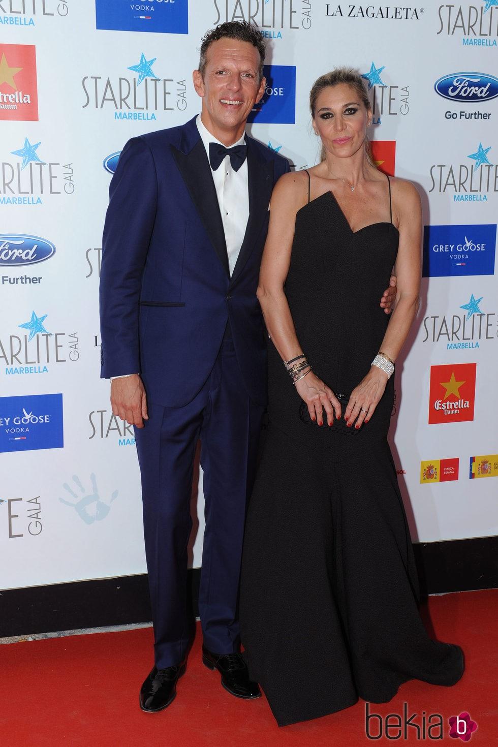 Joaquín Prat y su mujer Yolanda Bravo en la Gala Starlite 2015
