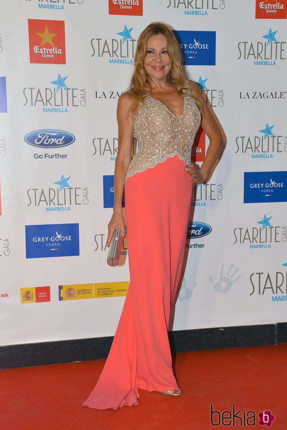 Ana Obregón en la Gala Starlite 2015