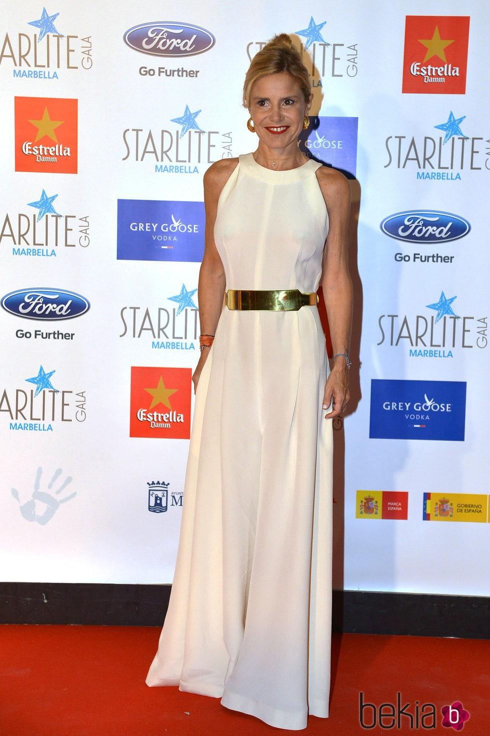 Eugenia Martínez de Irujo en la Gala Starlite 2015