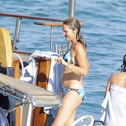 La Infanta Elena en bikini