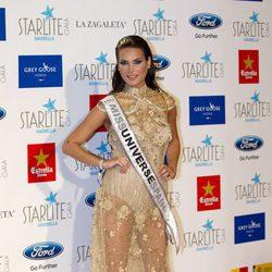 Miss Universo España 2015 Carla García en la Gala Starlite 2015