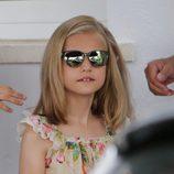 La Princesa Leonor con gafas de sol polarizadas en Mallorca
