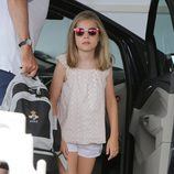 La Infanta Sofía con gafas de sol polarizadas en Mallorca