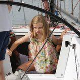 La Princesa Leonor en el Aifos en el Náutico de Palma