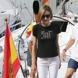 La Reina Letizia en el Aifos en el Náutico de Palma
