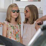 La Princesa Leonor y la Infanta Sofía con gafas de sol polarizadas en Mallorca