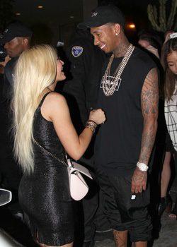 Kylie Jenner agradeciendo a Tyga el fantástico regalo