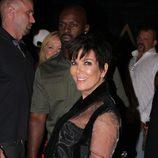 Kris Jenner en la fiesta de cumpleaños de Kylie
