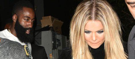 Khloe Kardashian en el cumpleaños de su hermana Kylie