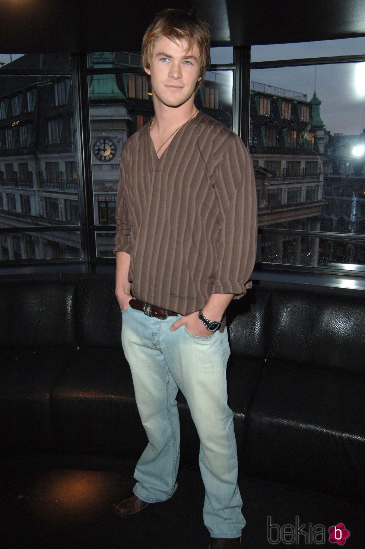 Chris Hemsworth en la presentación de la serie 'Home & Away'