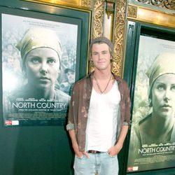 Chris Hemsworth en la premiere de 'North Country' en Sidney