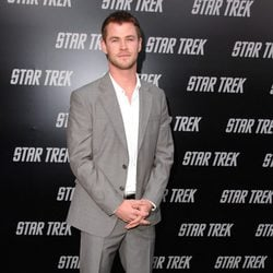 Chris Hemsworth en la premiere de 'Star Trek' en Los Ángeles