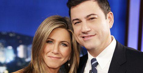 Jennifer Aniston y Jimmy Kimmel