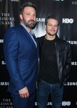 Ben Affleck y Matt Damon en el estreno de ?Project Greenlight?