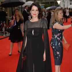 Raquel Cassidy en un homenaje a 'Downton Abbey' en Londres