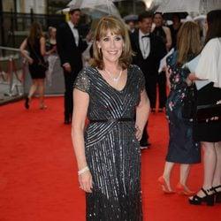 Phyllis Logan  en un homenaje a 'Downton Abbey' en Londres