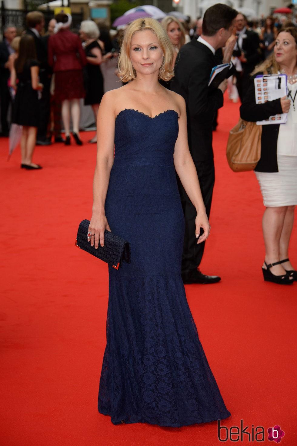 MyAnna Buring en un homenaje a 'Downton Abbey' en Londres