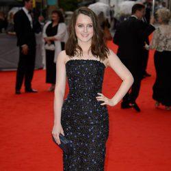 Sophie McShera en un homenaje a 'Downton Abbey' en Londres