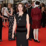 Catherine Steadman en un homenaje a 'Downton Abbey' en Londres