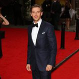 Dan Stevens en un homenaje a 'Downton Abbey' en Londres
