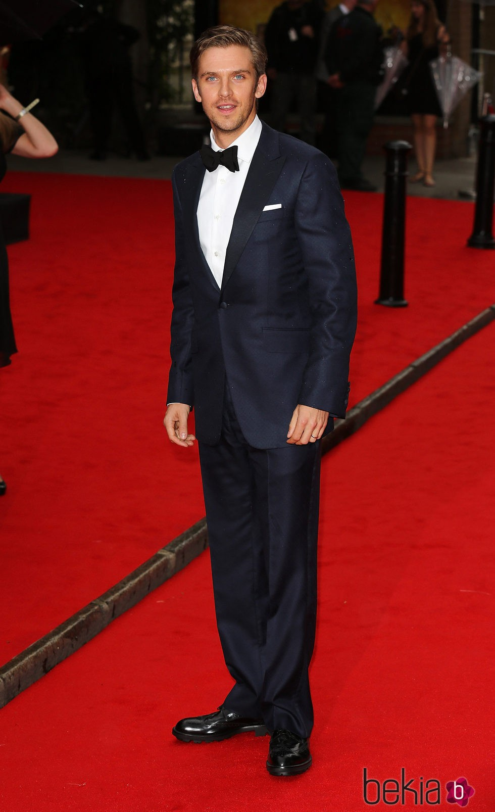 Dan Stevens en un homenaje a 'Downton Abbey' en Londres