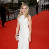 Joanne Froggatt en un homenaje a 'Downton Abbey' en Londres