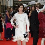 Elizabeth McGovern en un homenaje a 'Downton Abbey' en Londres