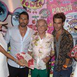 Jon Kortajarena en la fiesta Flower Power 2015 de Ibiza