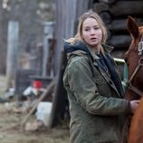 Jennifer Lawrence en una escena de 'Winter's Bone'