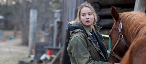 Jennifer Lawrence en una escena de 'Winter's Bone'