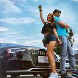 Risto Mejide y Laura Escanes en la Ruta 66