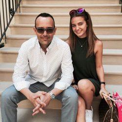 Risto Mejide y Laura Escanes en Nueva York