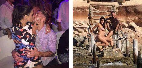 Sergio Ramos y Pilar Rubio pasan un fin de semana en Ibiza
