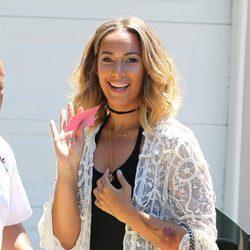 Leona Lewis fue otra de las asistentes al 16º edición del Indulgence Day