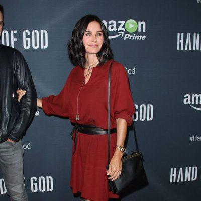 Courteney Cox en el estreno de la serie 'Hand Of God'