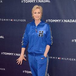 Jane Lynch en la presentación de Rafa Nadal como imagen de Tommy Hilfiger