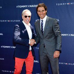 Tommy Hilfiger y Rafa Nadal presentan su colaboración durante un evento en Nueva York