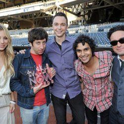 El elenco de 'The Big Bang Theory' en la Comic-Con 2010