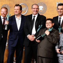 El elenco de 'Modern Family' en los Screen Actors Guild Awards 2011