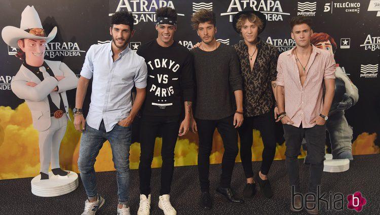 Auryn en el estreno de 'Atrapa la bandera' en Madrid