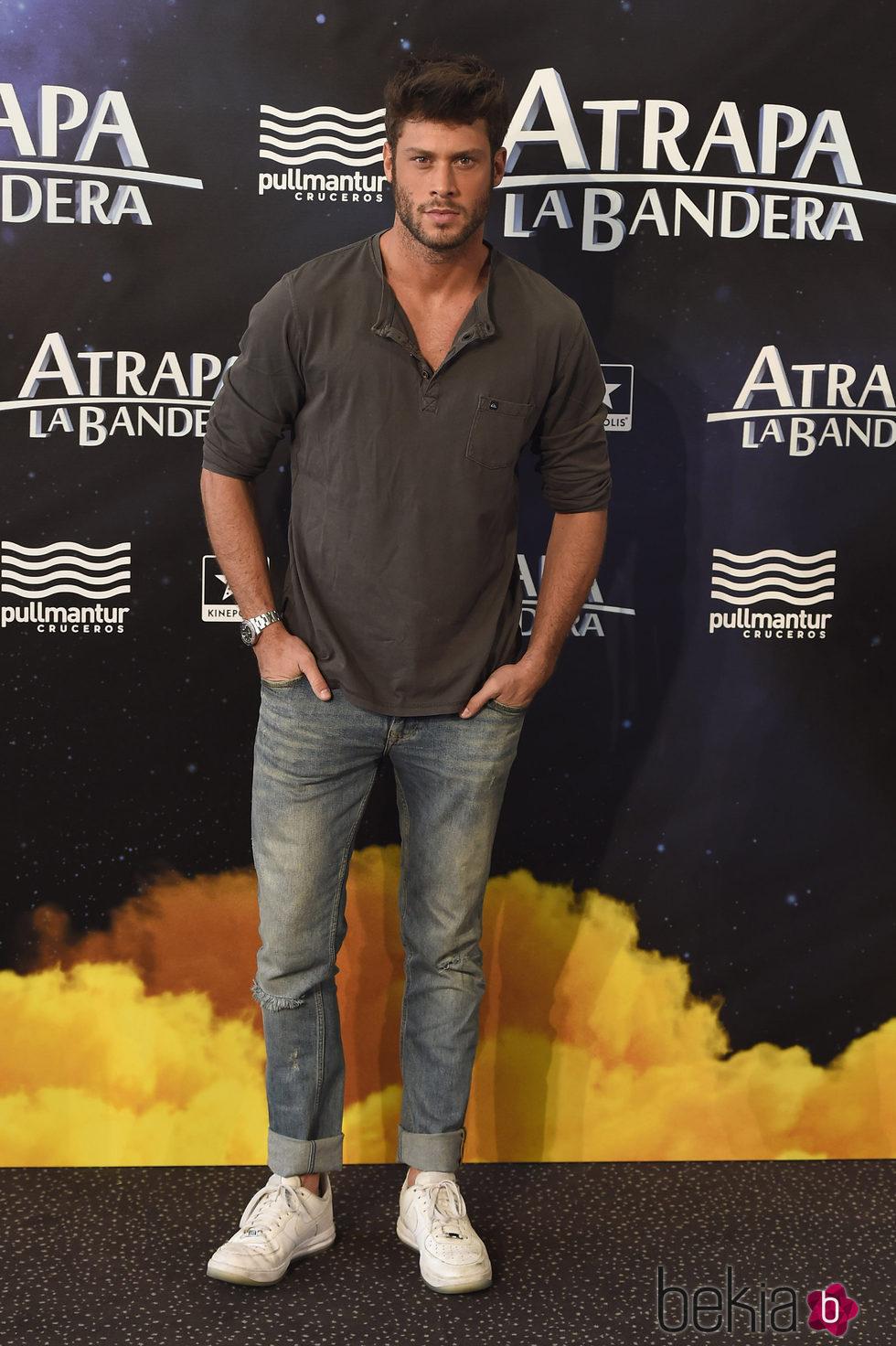 José Lamuño en el estreno de 'Atrapa la bandera' en Madrid