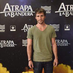 Bernabé Fernández en el estreno de 'Atrapa la bandera' en Madrid