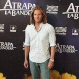 Alex Hafner en el estreno de 'Atrapa la bandera' en Madrid