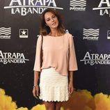 Mónica Estarreado en el estreno de 'Atrapa la bandera' en Madrid