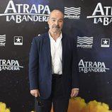 Antonio Resines en el estreno de 'Atrapa la bandera' en Madrid