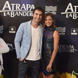 Dani Rovira y Michelle Jenner en el estreno de 'Atrapa la bandera' en Madrid