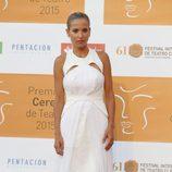 Ana Fernández en la entrega de los Premios Ceres 2015