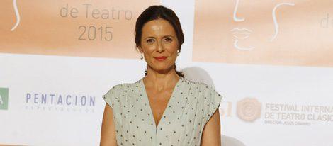 Aitana Sánchez Gijón en la entrega de los Premios Ceres 2015